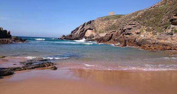 Ruta senderismo de Playa Santa Justa