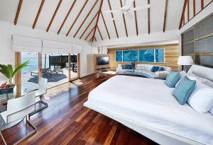 3premier water villa bedroom 660x450 1 conrad maldives rangali island