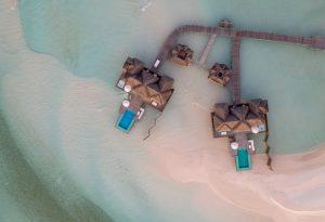 4sunset water villa aerial 660x450 1 conrad maldives rangali island