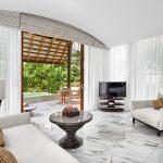 deluxe beach villa living area 660x450 2 conrad maldives rangali island