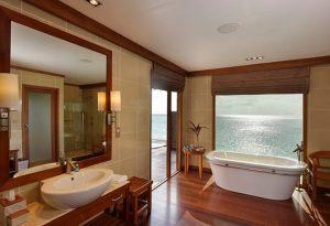deluxe water villa bathroom 660x450 1 conrad maldives rangali island
