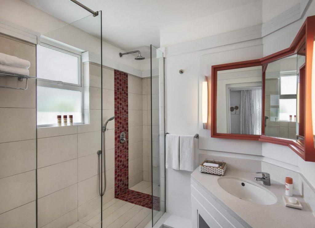 Ambre Rooms Courtyard Bathroom Ambre A Sun Resort Mauritius